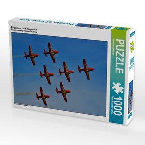 Präzision und Wagemut 1000 Teile Puzzle quer