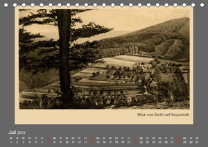 Saarland - vunn domols (frieher), Saarpfalz-Kreis (Tischkalender