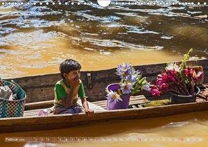 Lebensraum Inle - See in Myanmar (Wandkalender 2018 DIN A4 quer)
