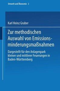 Zur methodischen Auswahl von Emissionsminderungsmaßnahmen