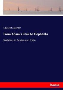 From Adam\'s Peak to Elephanta