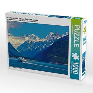 M/V Fairweather auf dem Weg nach Juneau 1000 Teile Puzzle quer