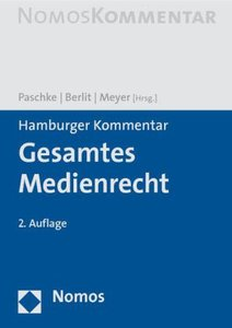 Hamburger Kommentar Gesamtes Medienrecht