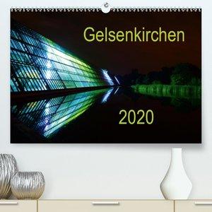 Gelsenkirchen 2020(Premium, hochwertiger DIN A2 Wandkalender 202