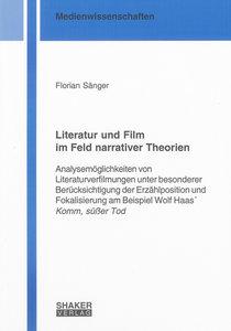 Literatur und Film im Feld narrativer Theorien