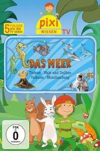 Pixi Wissen TV 03: Meer / Tiefsee / Wale und Delfine / Vulkane /