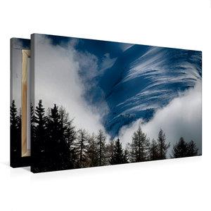 Premium Textil-Leinwand 75 cm x 50 cm quer Mystisch