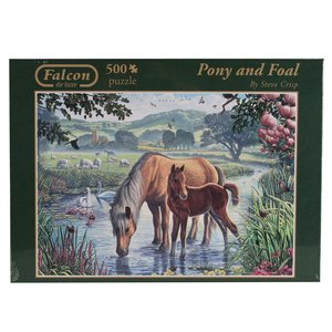 Falcon - Pony and Foal - 500 Teile