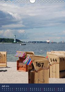 maritimes Schleswig-Holstein (Wandkalender 2019 DIN A4 hoch)