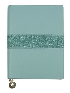 "Notizbuch / Notizheft / notebook Leder-Optik ""Mat and Shiny\"" l"