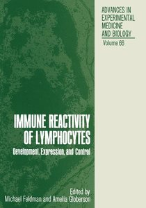 Immune Reactivity of Lymphocytes