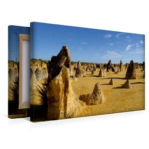 Premium Textil-Leinwand 45 cm x 30 cm quer Kalksteinfelsen \'Pin