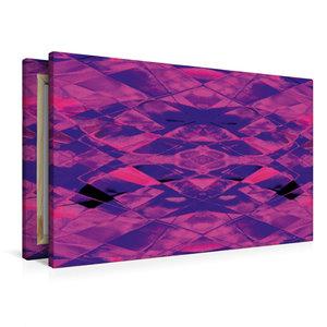 Premium Textil-Leinwand 90 cm x 60 cm quer Echo