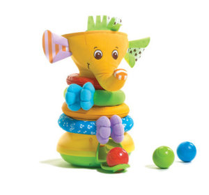 Musical Stack & Ball Game Elephant