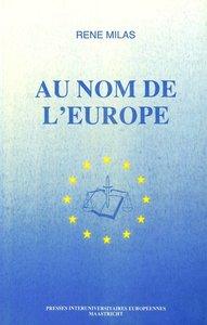 Au nom de l\'Europe