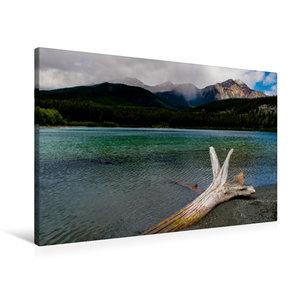 Premium Textil-Leinwand 90 cm x 60 cm quer Patricia Lake