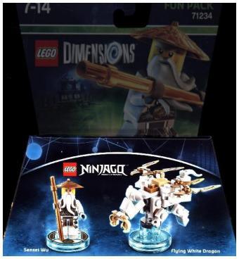 LEGO Dimensions - Fun Pack - Ninjago - Sensei Wu (71234) [83765340 ...