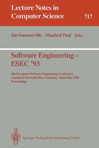 Software Engineering - ESEC '93