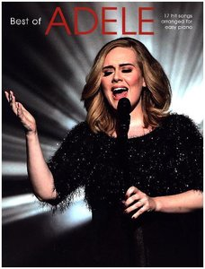 Adele Best Of (Easy Piano Book Updated Edition)