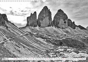 Steinerne Landschaften in Südtirol (Wandkalender 2020 DIN A3 que
