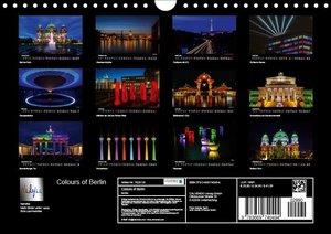 Colours of Berlin (Wandkalender 2019 DIN A4 quer)