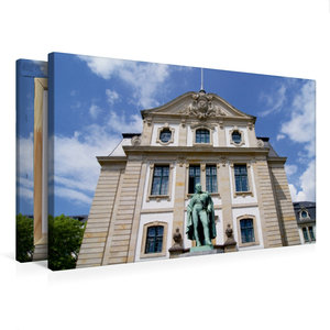 Premium Textil-Leinwand 75 cm x 50 cm quer Karl August Graf von