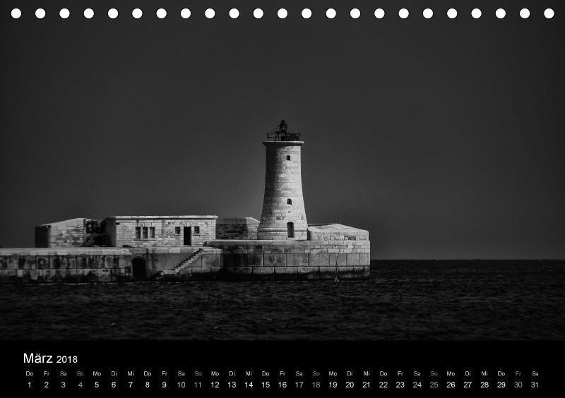 Maritimes monochrom - zum Schließen ins Bild klicken