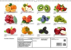 Früchte & Beeren (Wandkalender 2019 DIN A3 quer)