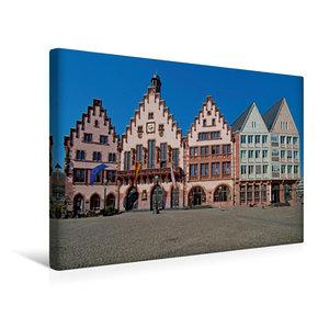 Premium Textil-Leinwand 45 cm x 30 cm quer Römer, Frankfurt