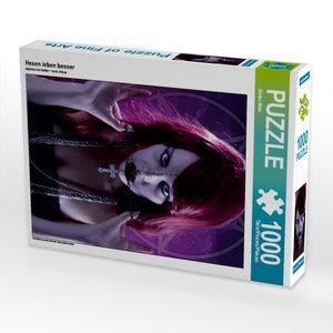 Hexen leben besser 1000 Teile Puzzle hoch