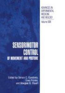 Sensorimotor Control of Movement and Posture