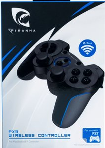 PIRANHA PX3 WIRELESS CONTROLLER für PS3, kabellos