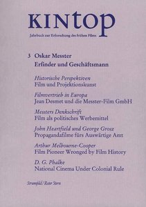 KINtop. Jahrbuch zur Erforschung des frühen Films / Oskar Messte