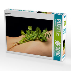 CALVENDO Puzzle Koriander 2000 Teile Lege-Größe 90 x 67 cm Foto-