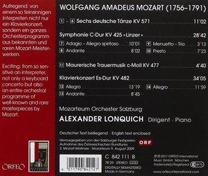 Symphonie KV 425,Klavierkonzert KV 482