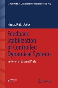 Feedback Stabilization of Controlled Dynamical Systems