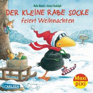 Maxi-Pixi Nr. 142: VE 5 Der kleine Rabe Socke feiert Weihnachten