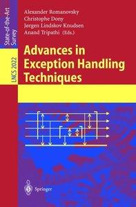 Advances in Exception Handling Techniques