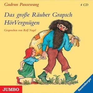 Das große Räuber Grapsch Hörvergnügen, Gesamtausgabe, 4 Audio-CD