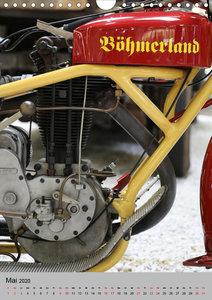 Motorrad Oldtimer - Seltene Motoren
