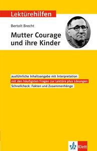 """Klett Lektürehilfen Bertolt Brecht \""""Mutter Courage und ihre Kin"""