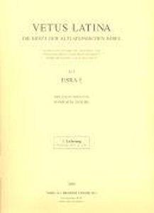 Vetus Latina. Die Reste der altlateinischen Bibel. Nach Petrus S