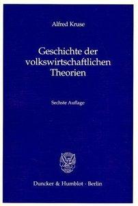 Geschichte der volkswirtschaftlichen Theorien