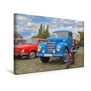 Premium Textil-Leinwand 45 cm x 30 cm quer Framo V901/2 und Mini