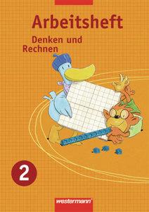 Denken und Rechnen 2. Arbeitsheft. Nordrhein-Westfalen, Niedersa