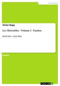 Les Misérables - Volume I - Fantine