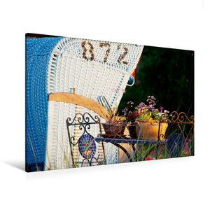 Premium Textil-Leinwand 120 cm x 80 cm quer Trauminsel Amrum