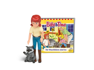 01-0114 Tonie-Bibi und Tina - Die Waschbären sind los