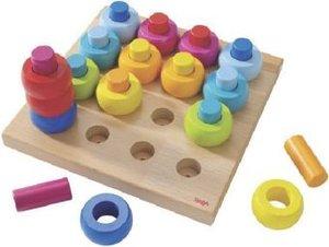 Steckspiel Farbkringel