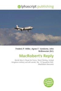 MacRobert\'s Reply